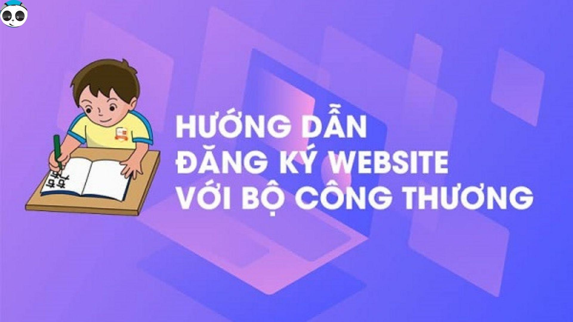 thông báo website với bộ công thương
